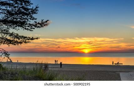 Jurmala is a famous international Baltic resort in Latvia, Europe