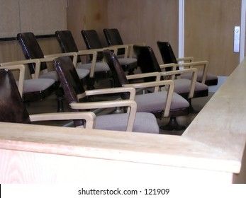 Jury area.