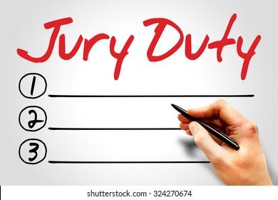 Jury Duty Images, Stock Photos & Vectors | Shutterstock