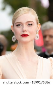 "Jury member Elle Fanning attends the opening ceremony and screening of ""The Dead Don't Die"" during the 72nd annual Cannes Film Festival on May 14, 2019 in Cannes, France."