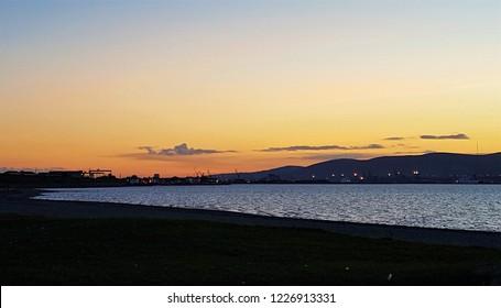 Just After Sunset, Belfast Lough, Northern Ireland