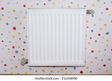 just installed a new steel heating radiator