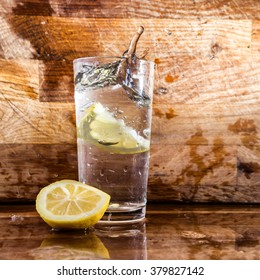 Just lemon and water