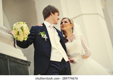 Just married in love