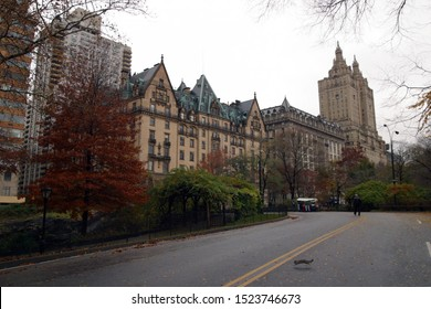 Just outside Central Park the Dakota Building is a beautiful sight in the NYC Skyline
