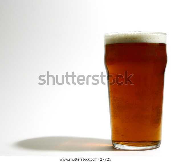 Just a pint of beer.