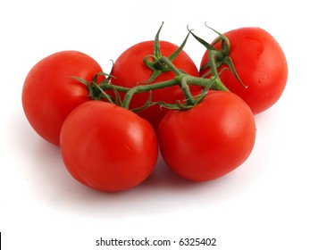 just teared off bunch of fresh tomatoes