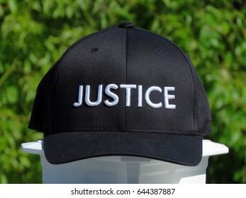 Justice Baseball Cap