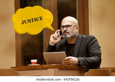 Justice, Business Concept