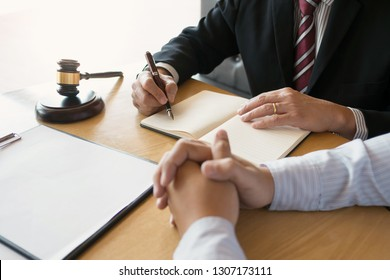 justice consultant working in courtroom / law firm.
