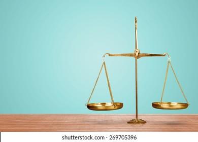 Justice, Scale, Balance.