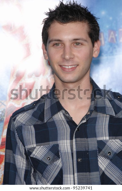 Justin Berfield Los Angeles Premiere Blades Stock Photo Edit Now 95239741