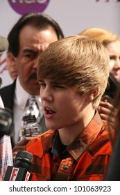 Justin Bieber at Variety's 4th Annual Power Of Youth Event, Paramount Studios, Hollywood, CA. 10-24-10