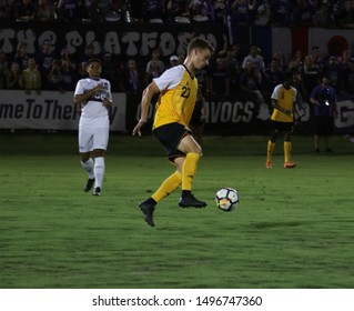 JUSTIN EARLE defender for the Northern Kentucky University Norse at GCU Stadium in Phoenix,Arizona/USA August 30,2019.