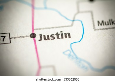 Map Of Justin Texas.Justin Texas Usa Stock Photo Edit Now 533862820 Shutterstock