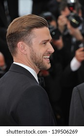 "Justin Timberlake at the gala screening for his movie ""Inside Llewyn Devis"" in competition at the 66th Festival de Cannes. May 19, 2013  Cannes, France"