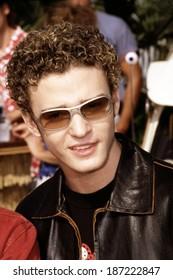 Justin Timberlake of NSync at Teen Choice Awards, 8/22/00 LA, CA