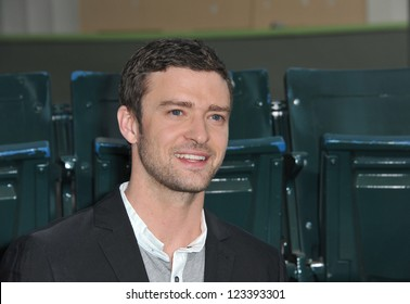 """Justin Timberlake at the premiere of his movie """"Trouble With The Curve"""" at the Mann Village Theatre, Westwood. September 19, 2012  Los Angeles, CA Picture: Paul Smith"""