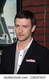 """Justin Timberlake at the """"Trouble With The Curve"""" Los Angeles Premiere, Mann Village Theater, Westwood, CA 09-19-12"""
