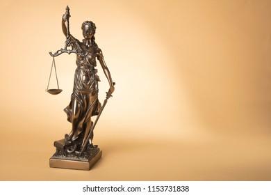Justise Figure on beige Background