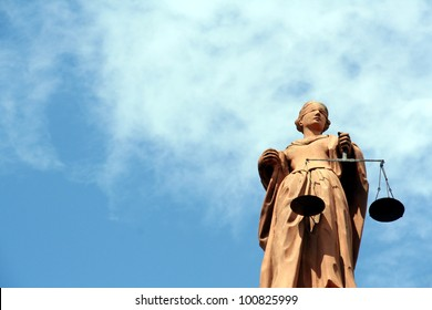 Justitia, the goddess of justice