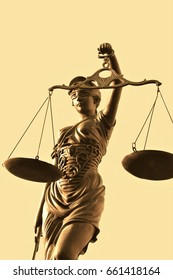 Justitia is a personification of justice / Justitia poetic justice