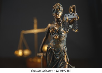 Justitie is a personification of justica