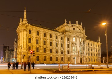 Justizpalast (Palace of Justice) - Munich, Bavaria, Germany
