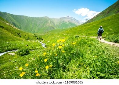 Juta Trekking in Georgia