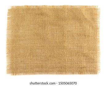 Jute fiber isolated on white