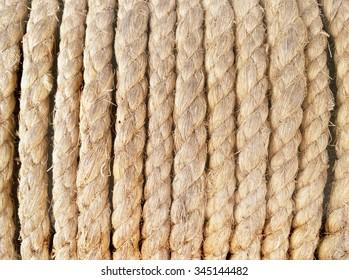 Jute rope.