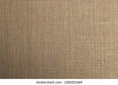 Jute vegetal fiber fabric background or texture