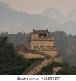 Juyongguan pass section of the Great Wall of China, Changping District, Beijing, China