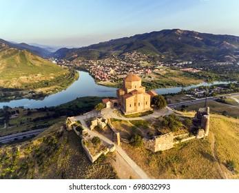 Jvary monastery near Mtskheta, Georgia.
