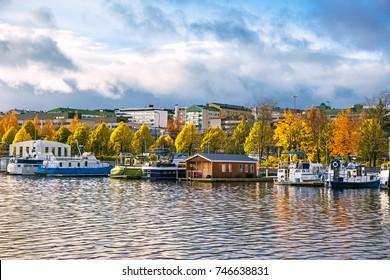 Jyvaskyla harbor, Finland