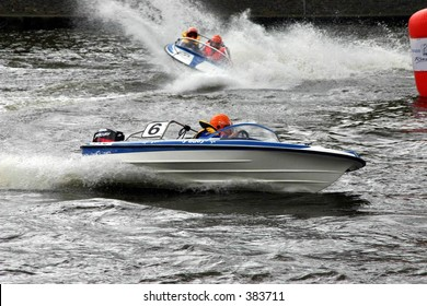 Speed Boats Race Stock Photo Edit Now 2537021 Shutterstock