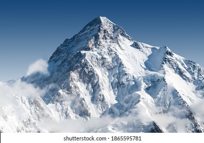K2 peak the 2nd highest peak in the world - Shutterstock ID 1865595781