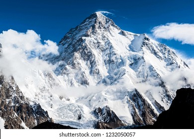 K2 peak (8,611 m) the world's 2nd highest peak in the Pakistan