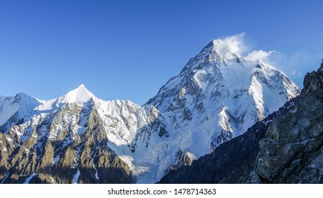 K2 peak second tallest in the world at the altitude 8.611 meters