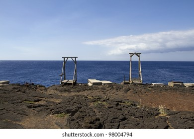 Ka Lae or South Point, is the southern most point on the Big Island of Hawaii