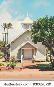 The Kaanapali Congregational Church On The Island Of Maui