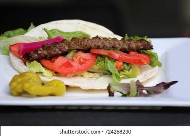 Kabab plate