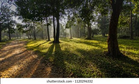 Kabini river  village near kabini, nagarhole national park of Karnataka