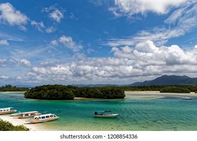 Kabira Bay, Ishiagaki island, landmark