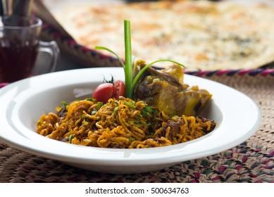 Kabsa fried noodle, arab food