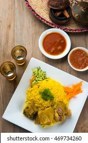 Kabsa Lamb, popular arab lamb rice