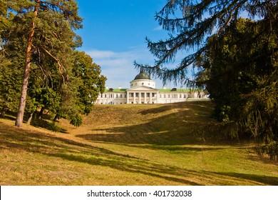 Kachanivka Palace near the village of Petrushivka located in Ichnia Raion, Chernihiv Oblast, Ukraine