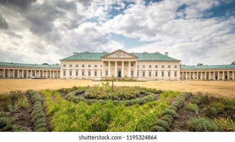 The Kacina Chateau near Kutna Hora, Czech Republic, Europe.