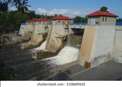 Kadan Water Dam in the Czech Republic.