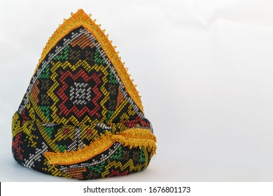 Kadazan / Dusun Traditional headgear or hat known as Sigar in local Dusunic language. Kadazan and Dusun are one of the tribe in Sabah, Borneo, Malaysia